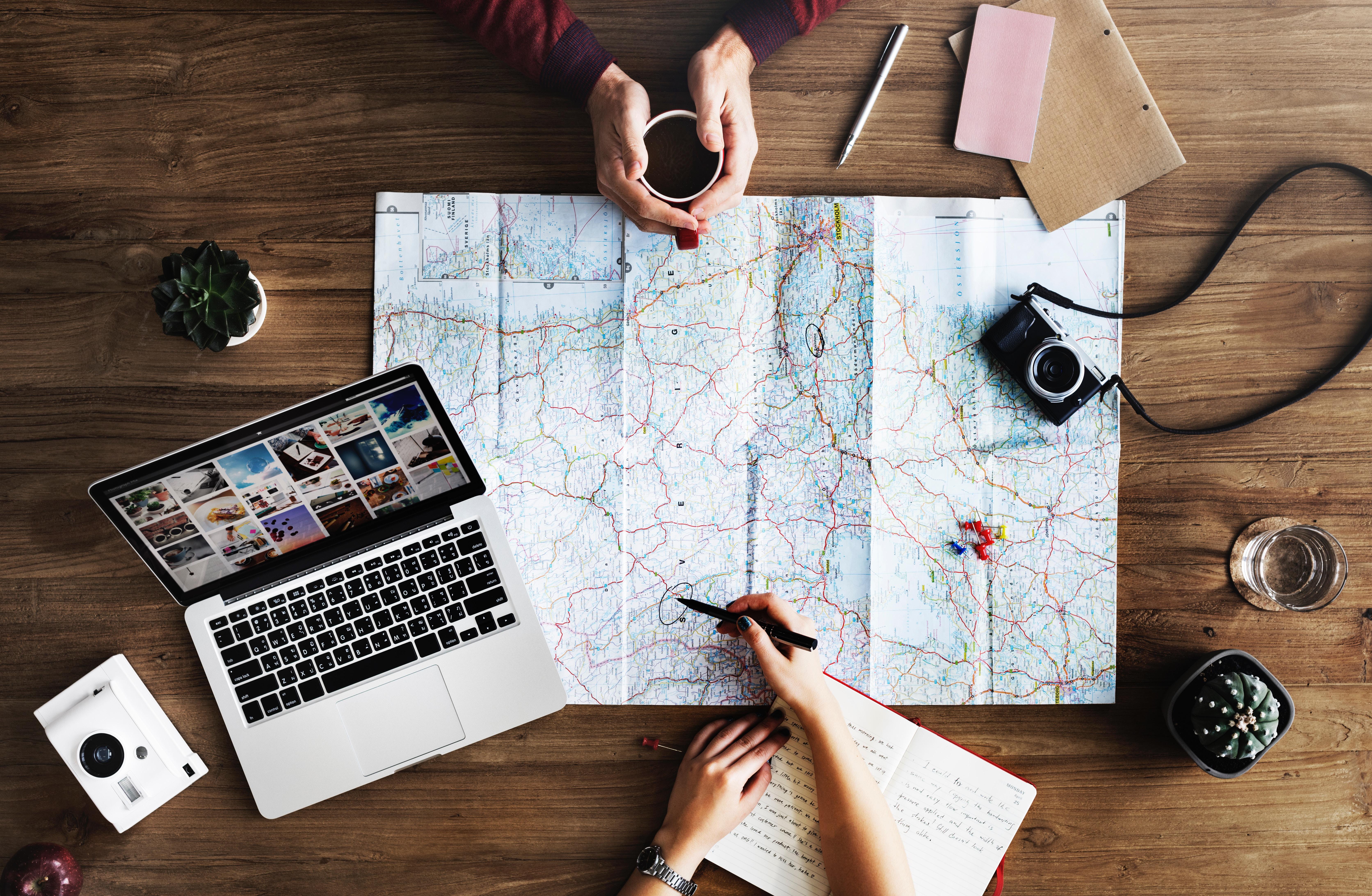 Créer et suivre son propre itinéraire